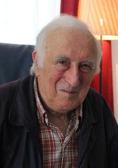 Jean Vanier portrait