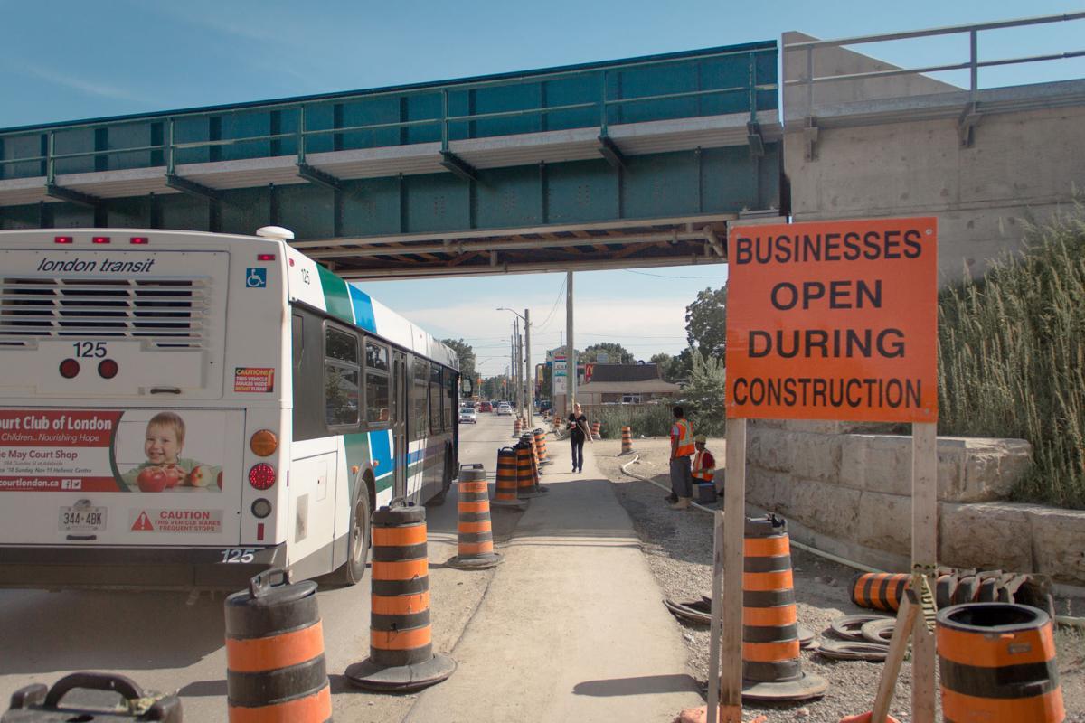 Traffic disruptions (Photo 1)