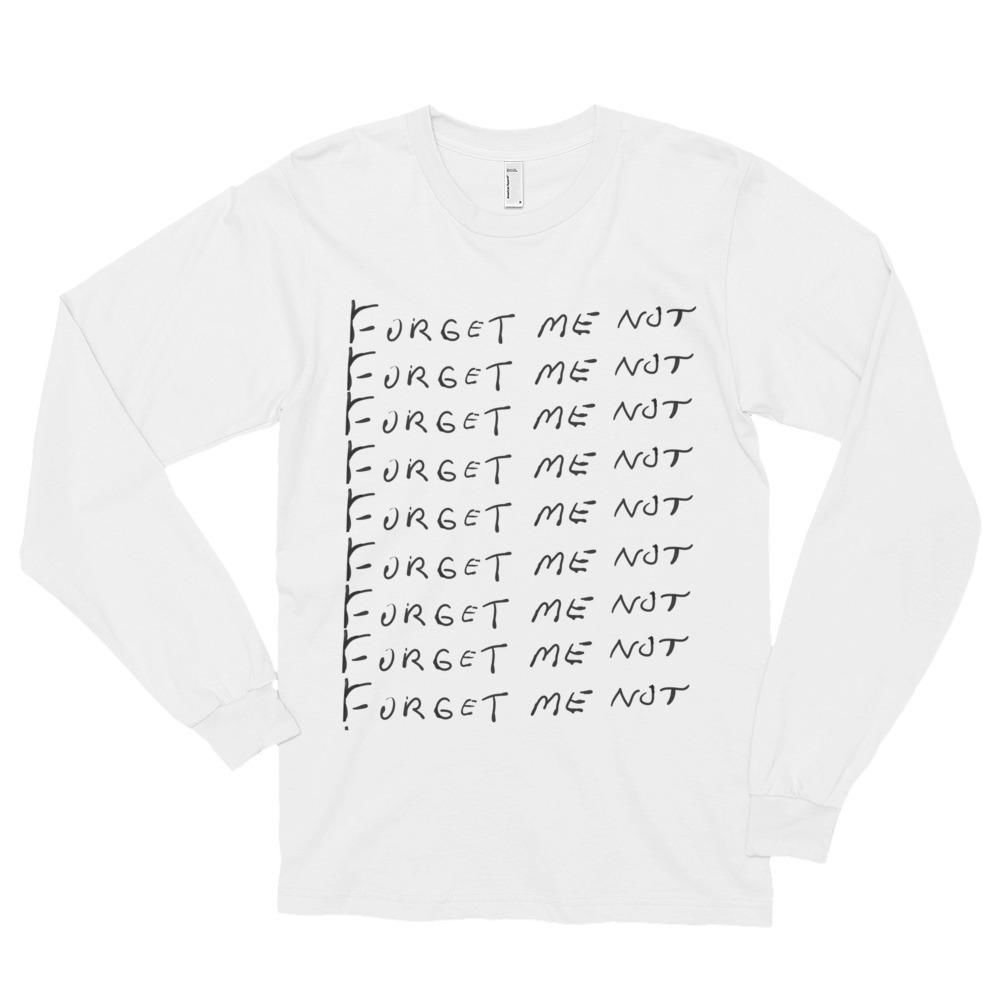 Forget Me Not T-Shirt (Photo)