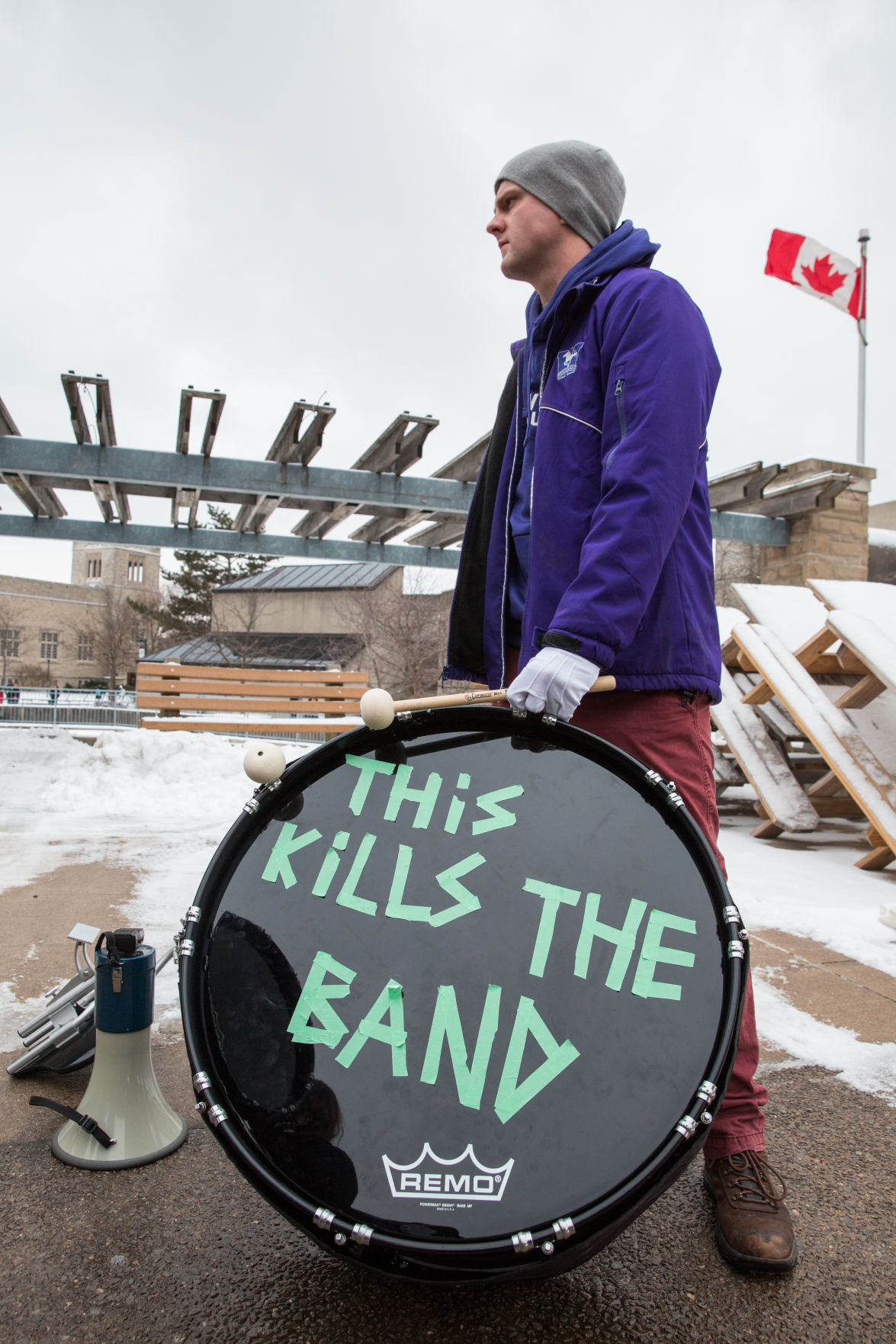 Anti-Ford Tuition Protest 10 (Photo)