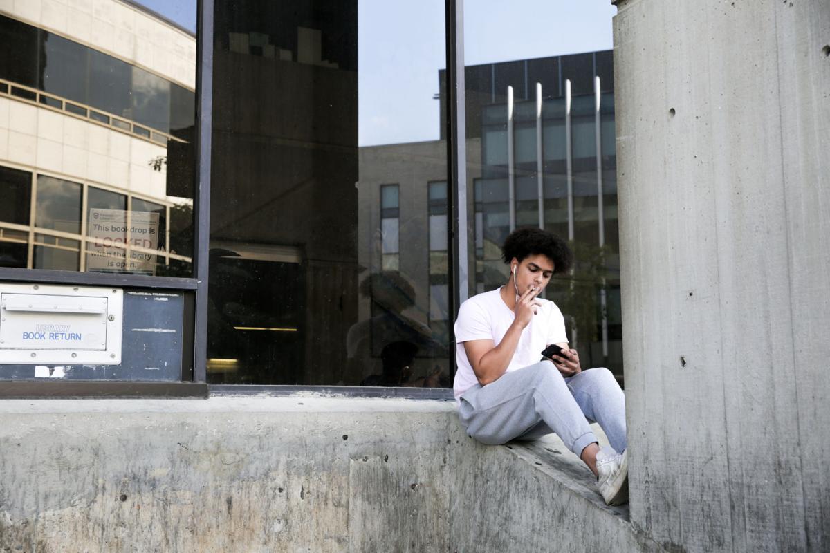 Student Smoking Image