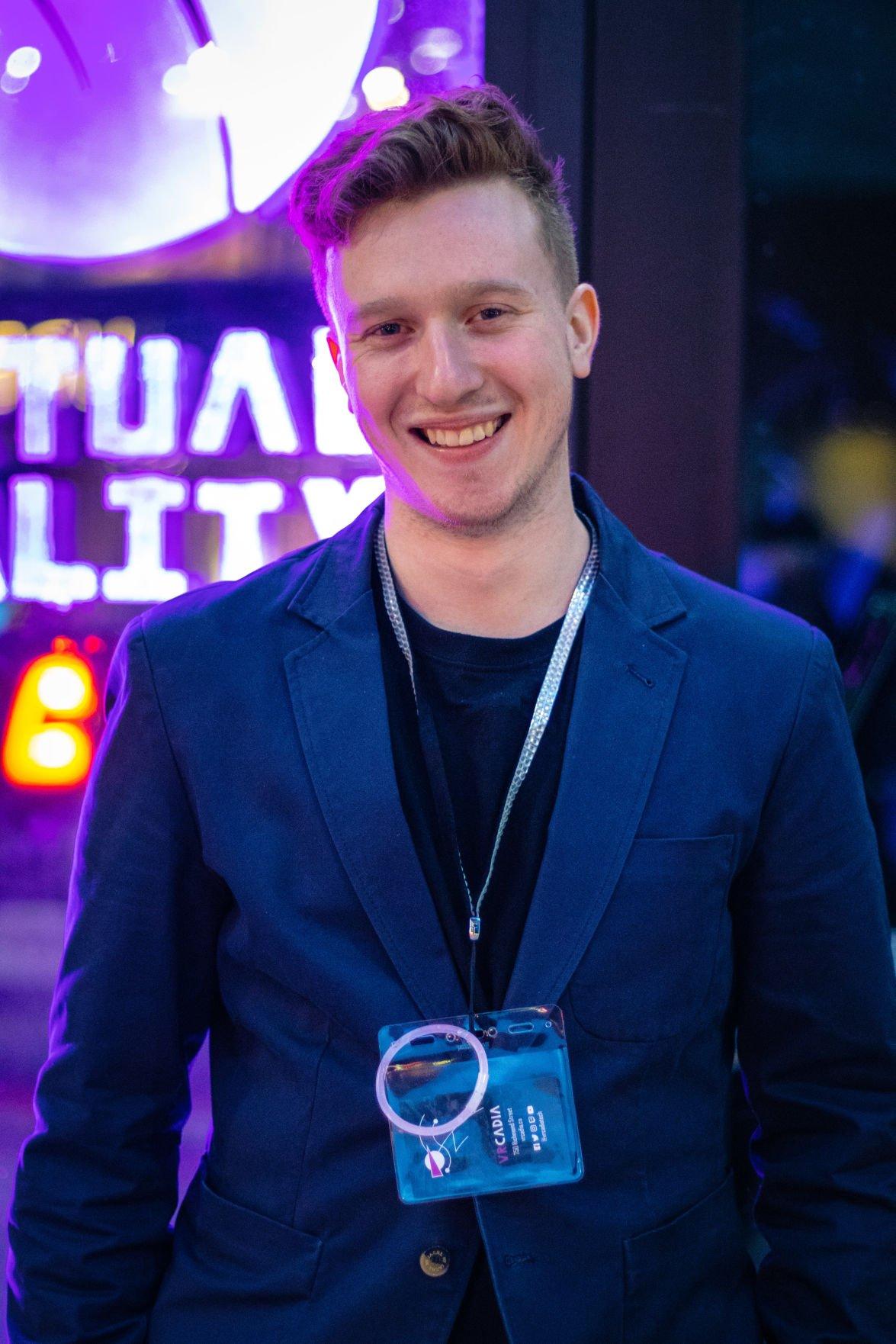 VRCadia Owner Portrait Shot