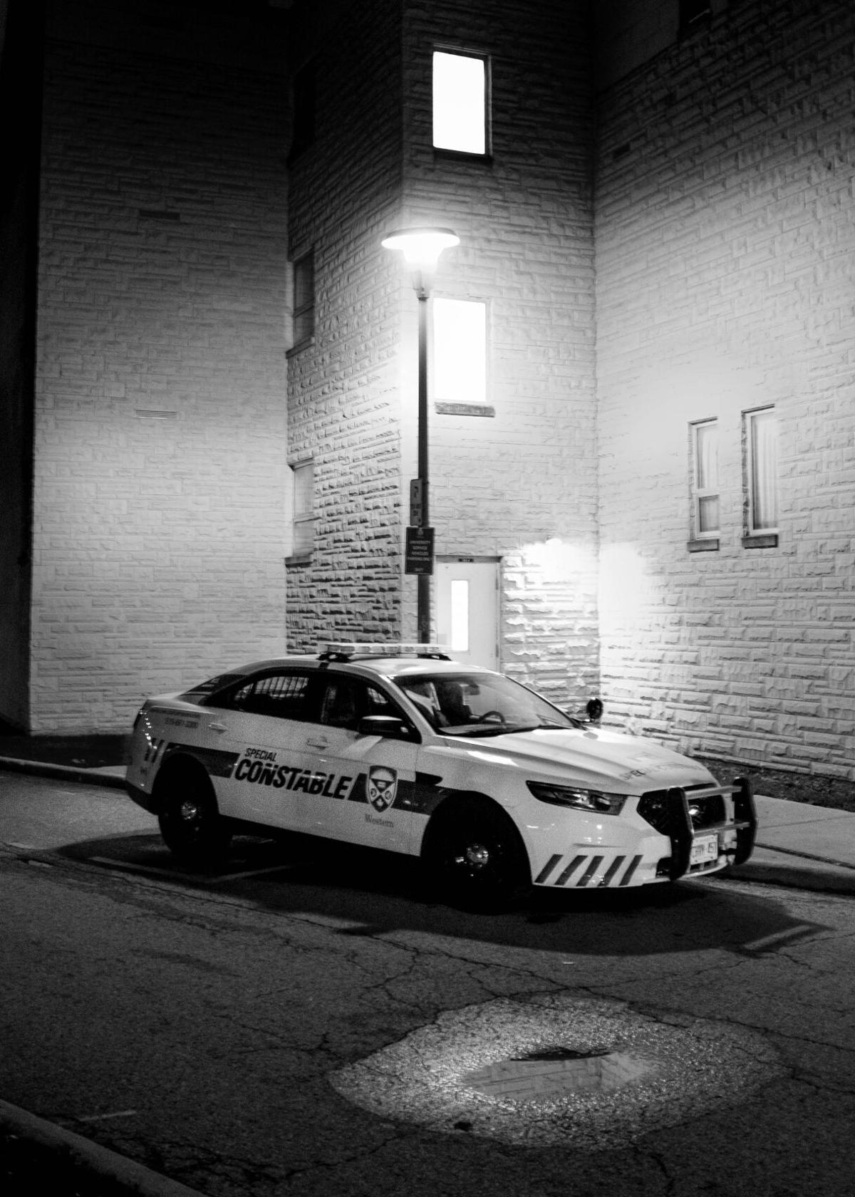 Med-Syd Assaults - Campus Police Car