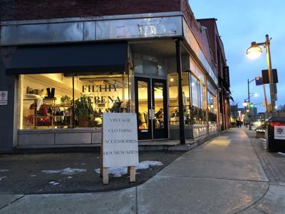 Filthy Rabina exterior at Richmond St. location