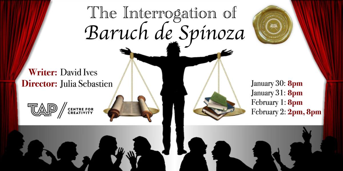 "David Ives' ""The Interrogation of Baruch de Spinoza"""