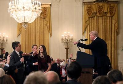 Acosta and Trump (Photo)