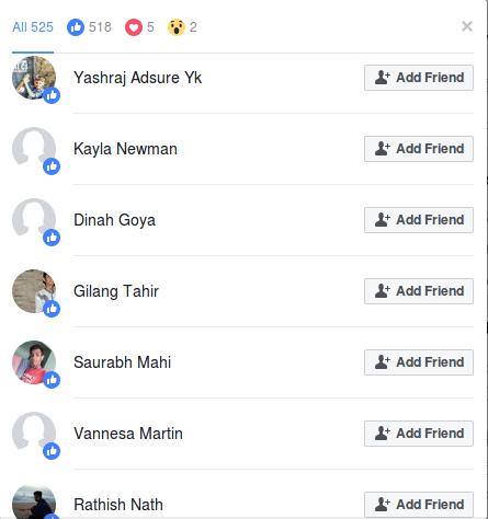 Khimji facebook likes.png
