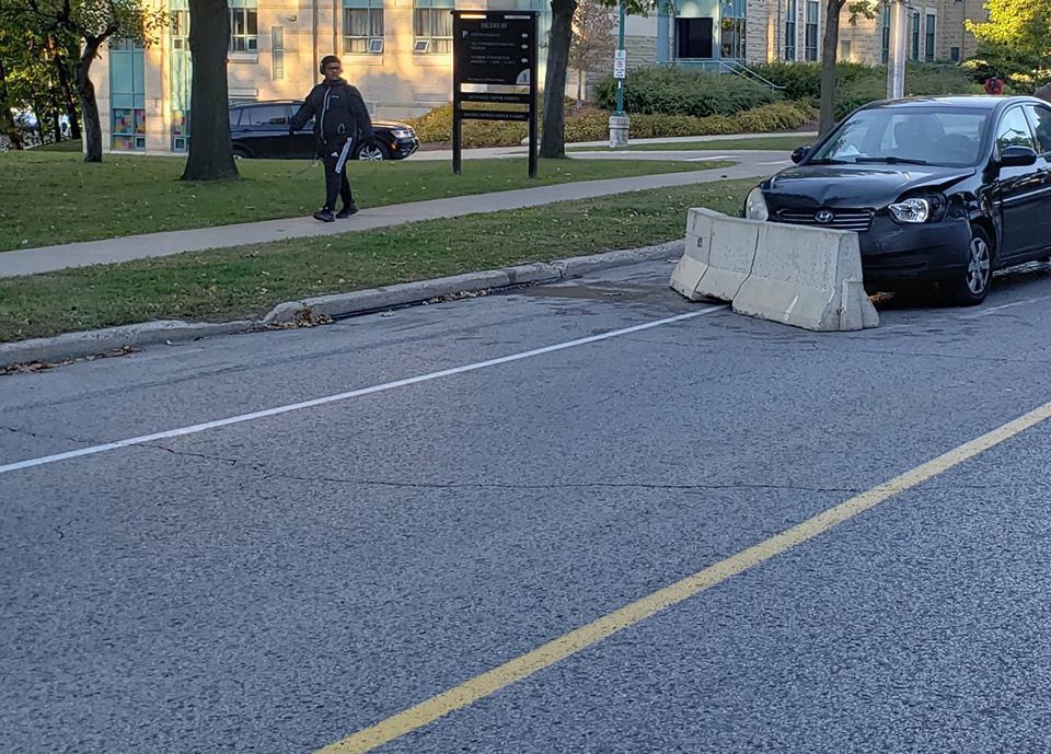 University Drive accident (Photo 4)