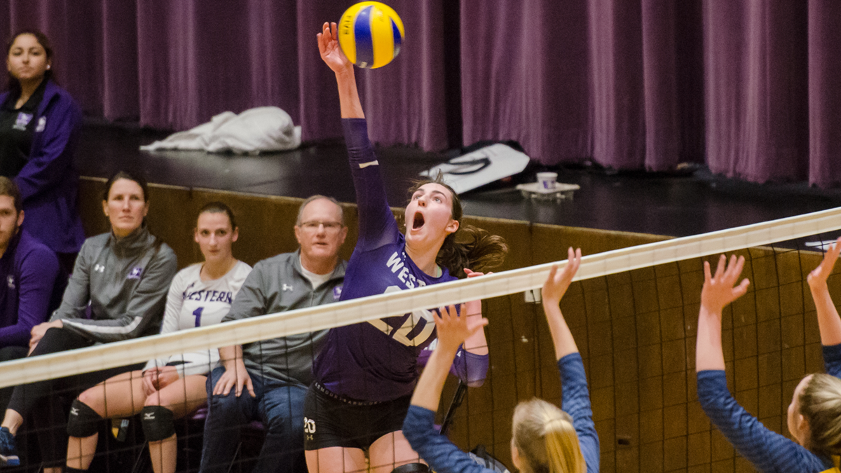 Mustangs volleyball teams capture wins over weekend | Sports