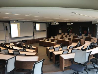 Ivey empty lecture hall, March 12 2020