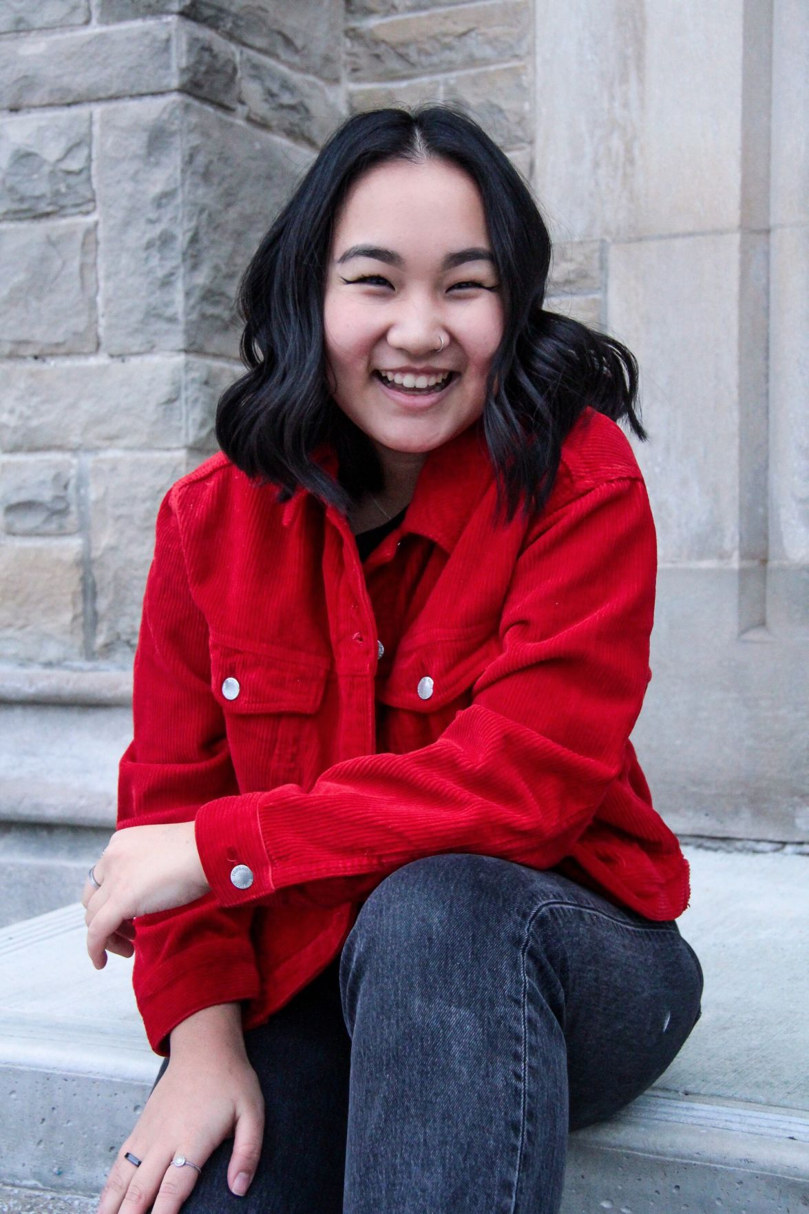 Camellia Wong - social science president candidate (Photo)