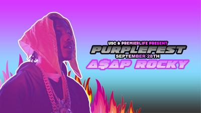 A$AP Rocky Purple Fest headliner