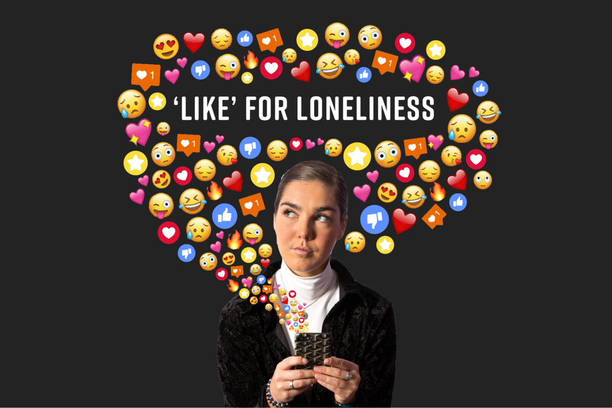 Like for Loneliness - graphic