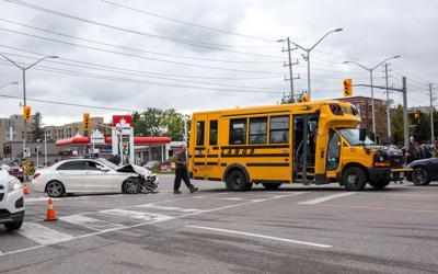 Sarnia and Western Car Crash - 1
