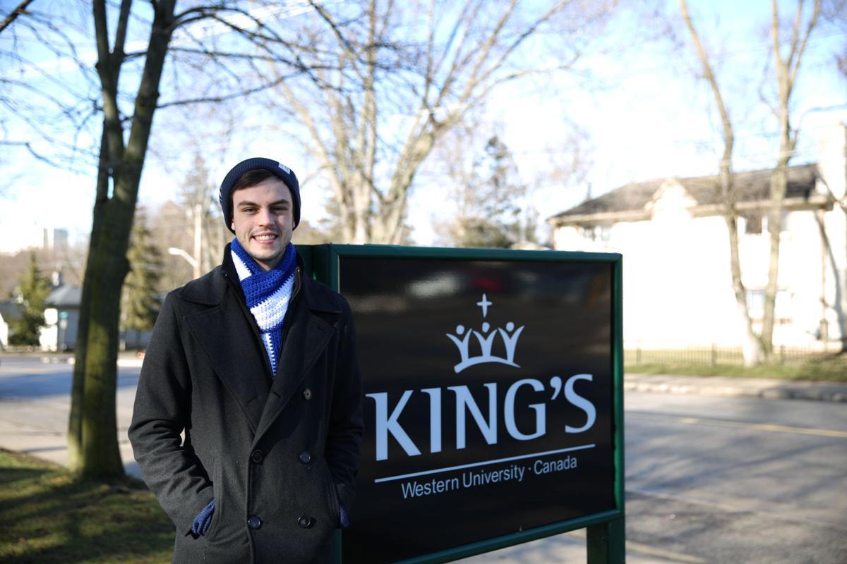 King's president 2016 Nate Little