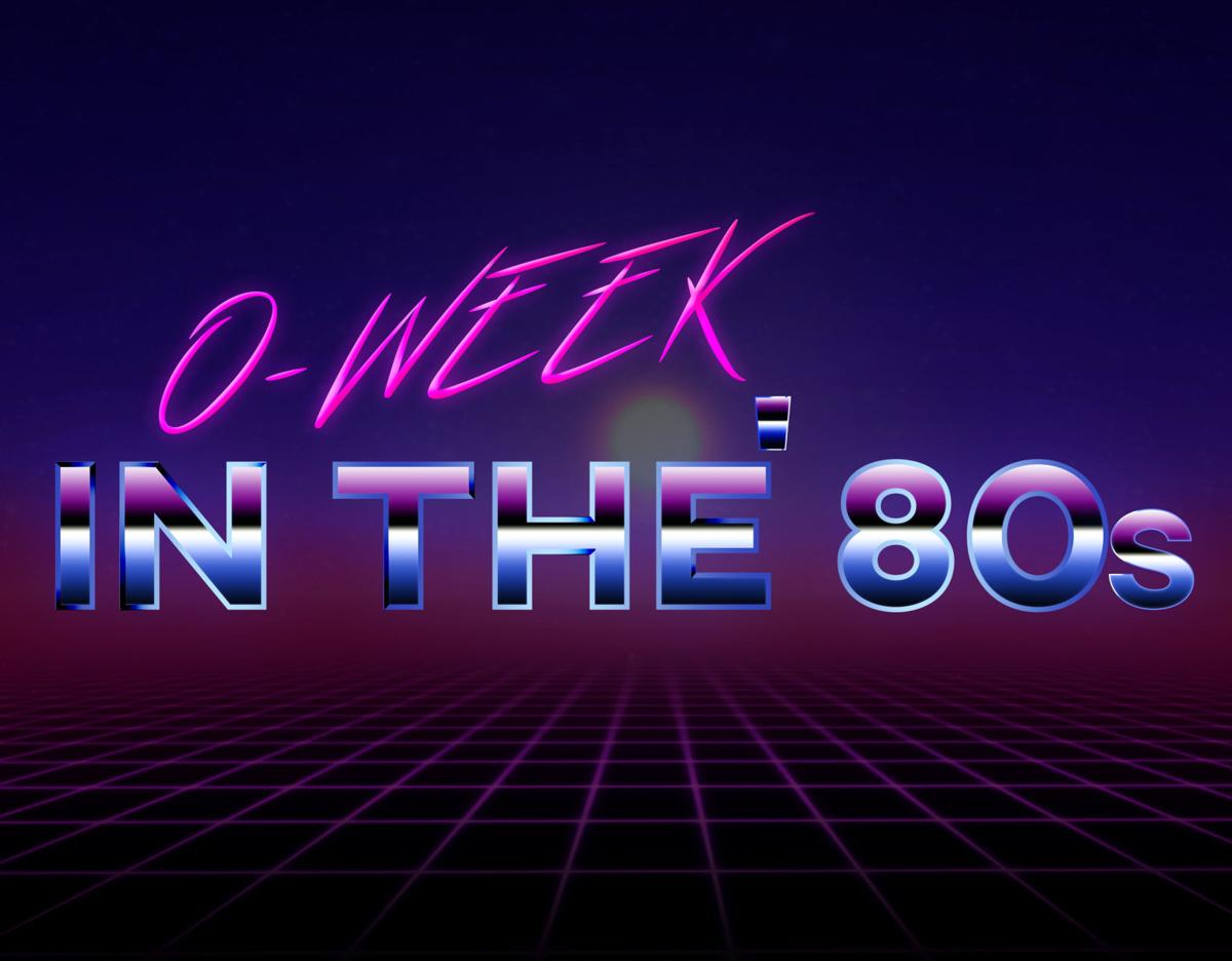 o week in the 80s graphic