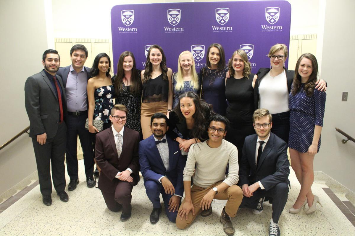 Celebrity Soiree SASAH students
