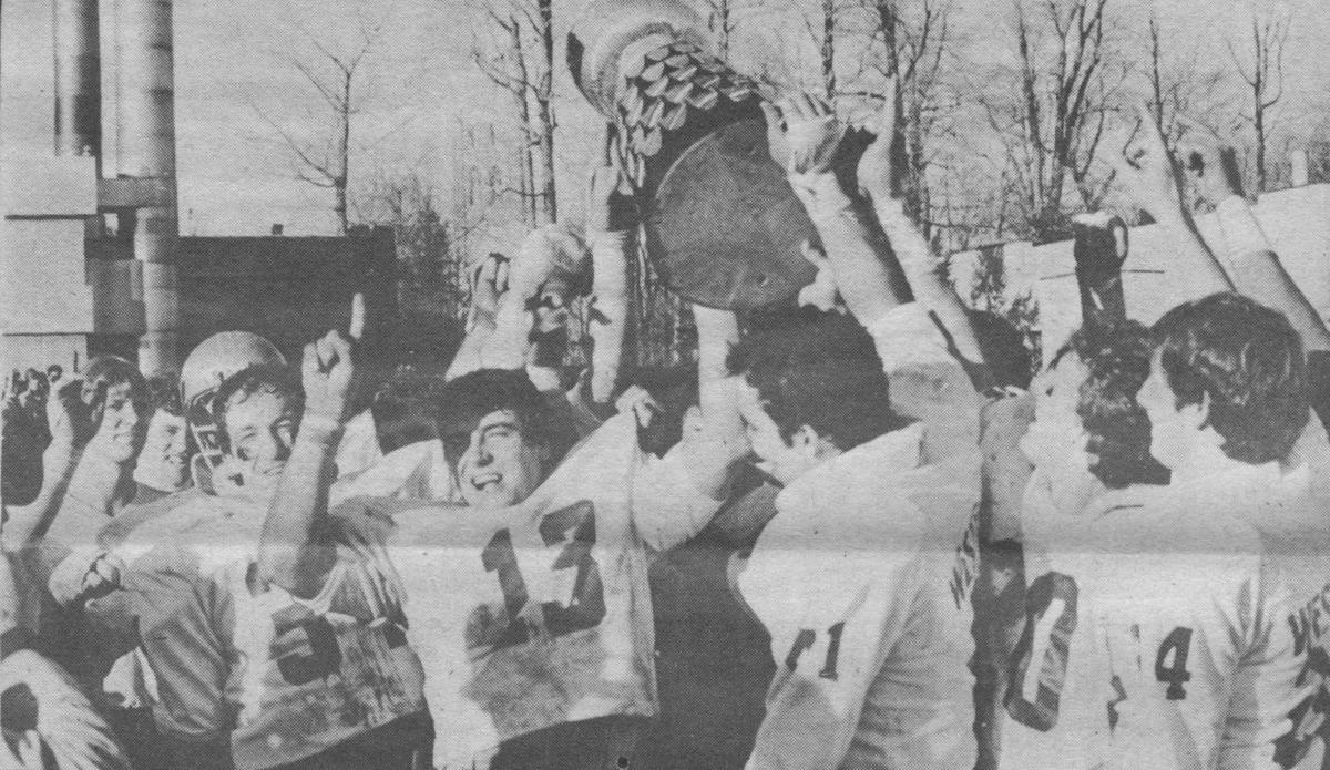 Blast from the past: Greg Marshall and the Stangs win 74th Yates Cup 1981