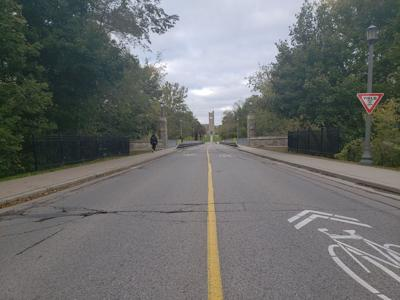 University Bridge closure (Photo)