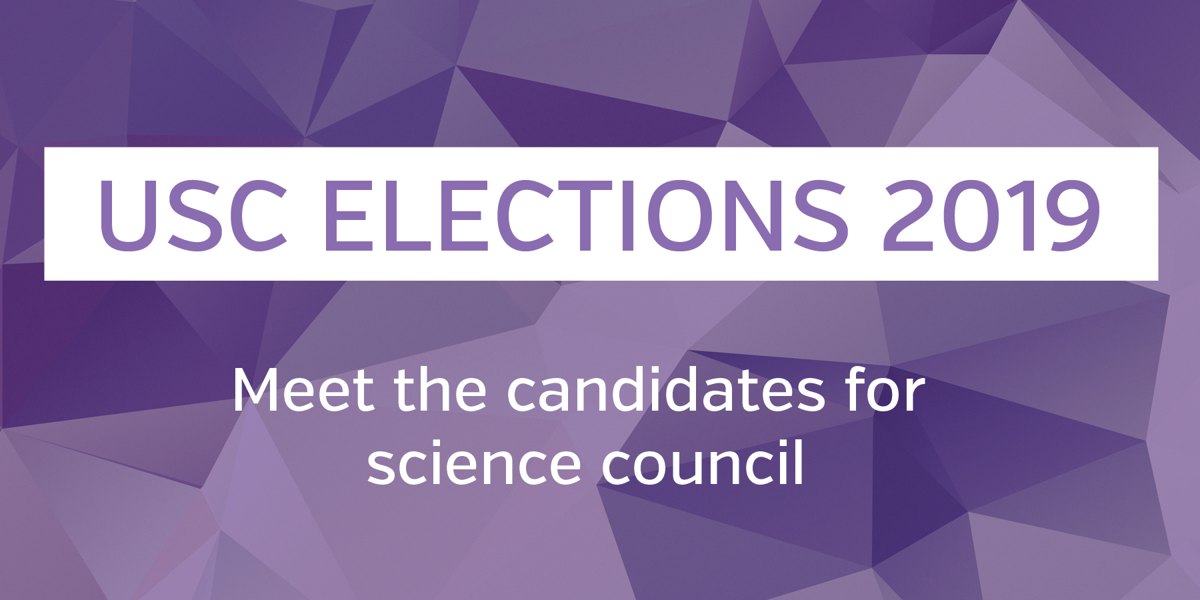 USC elections 2019- science council