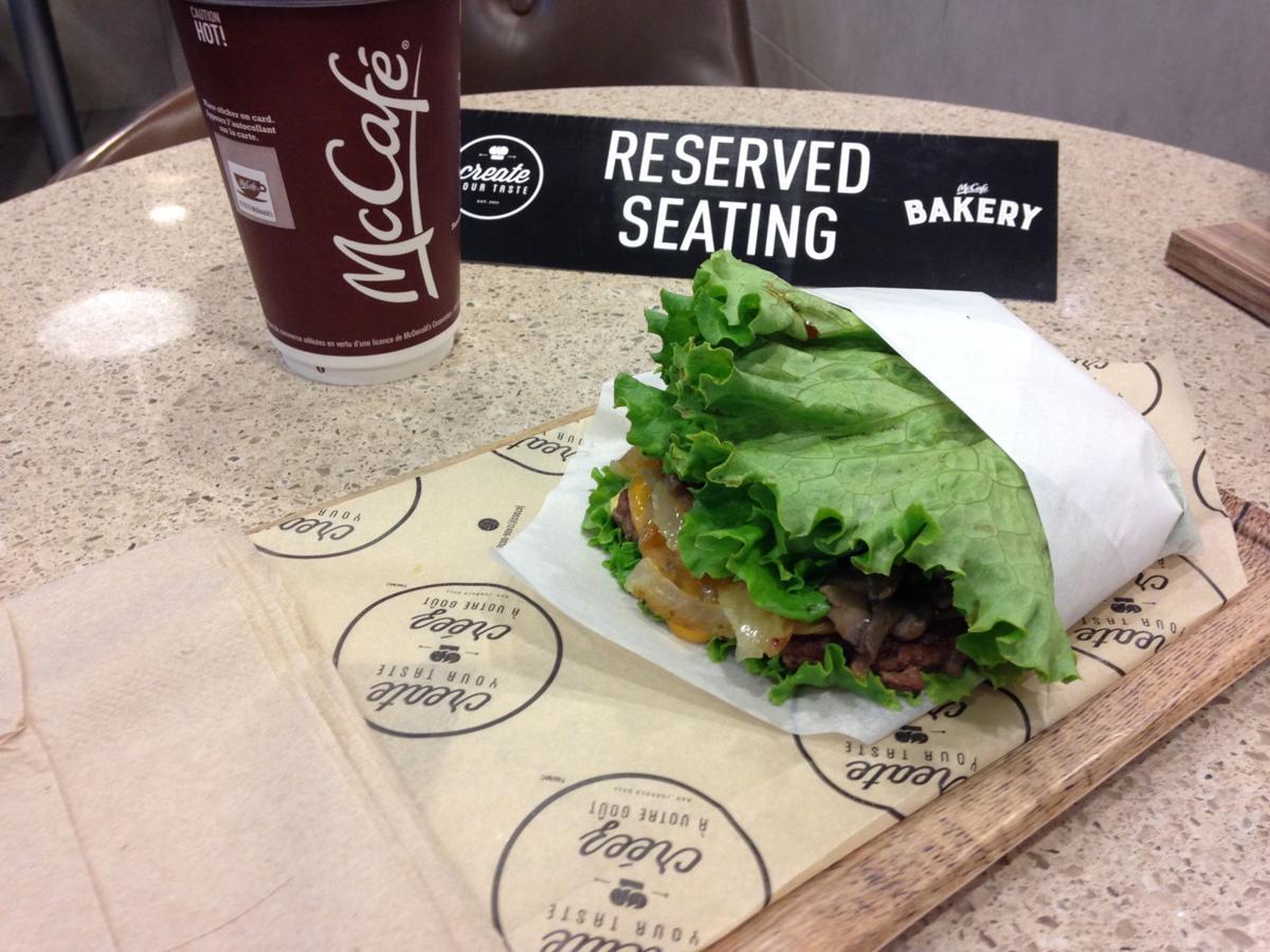 McDonald's Lettuce Wrap