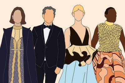 2020 Oscars red carpet fashion highlights graphic (png)