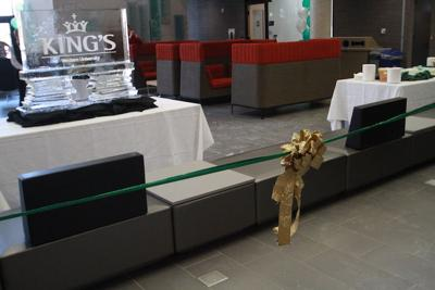 King's opens student centre