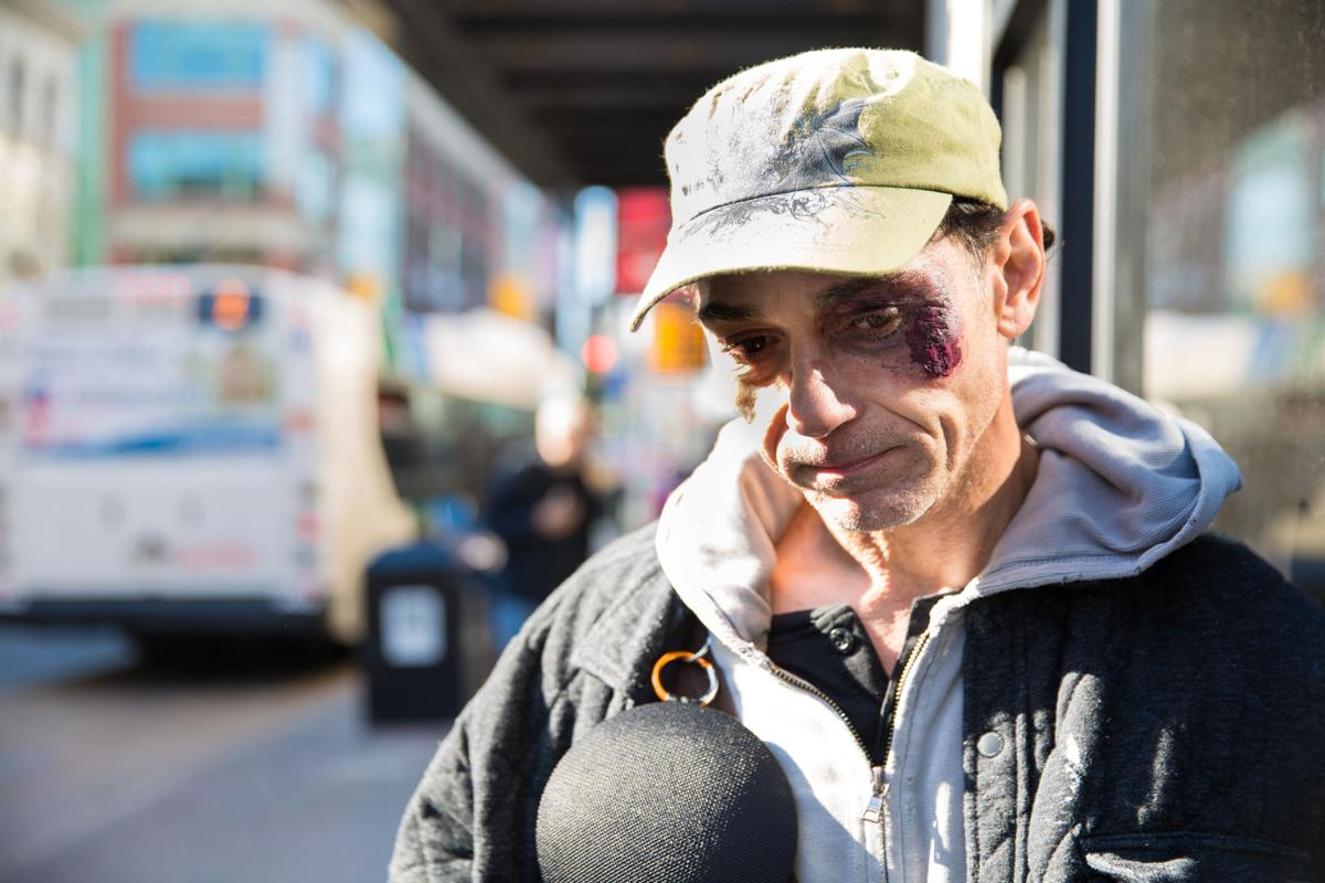Homelessness Feature, Image 1 (Benny)