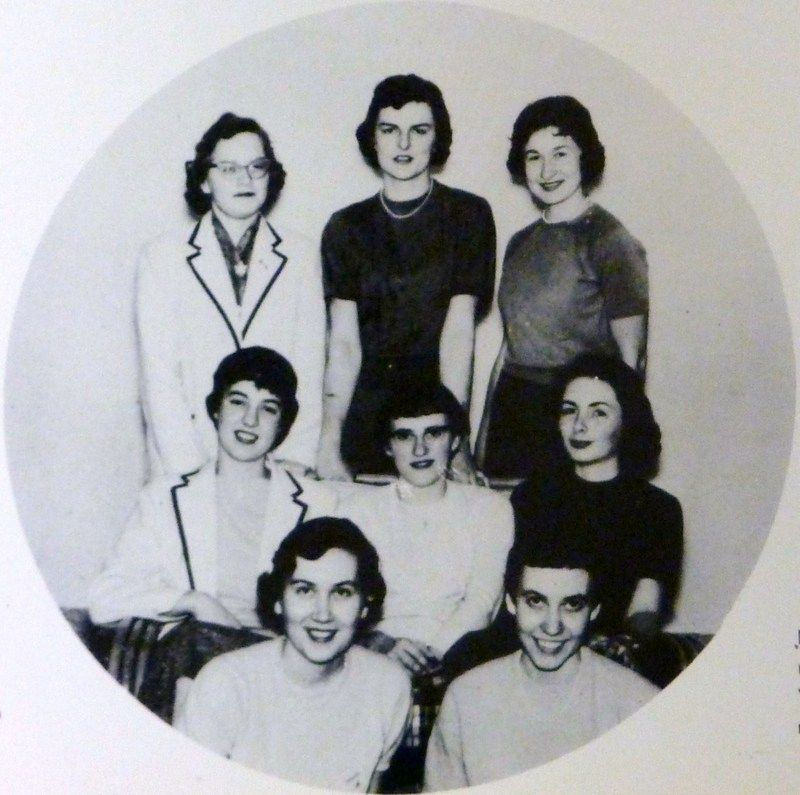 1959 women's bowling team
