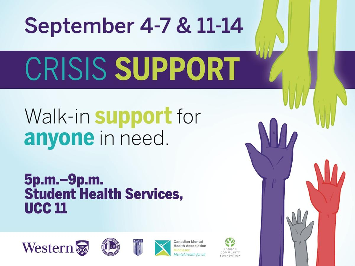 Crisis support hours of operation
