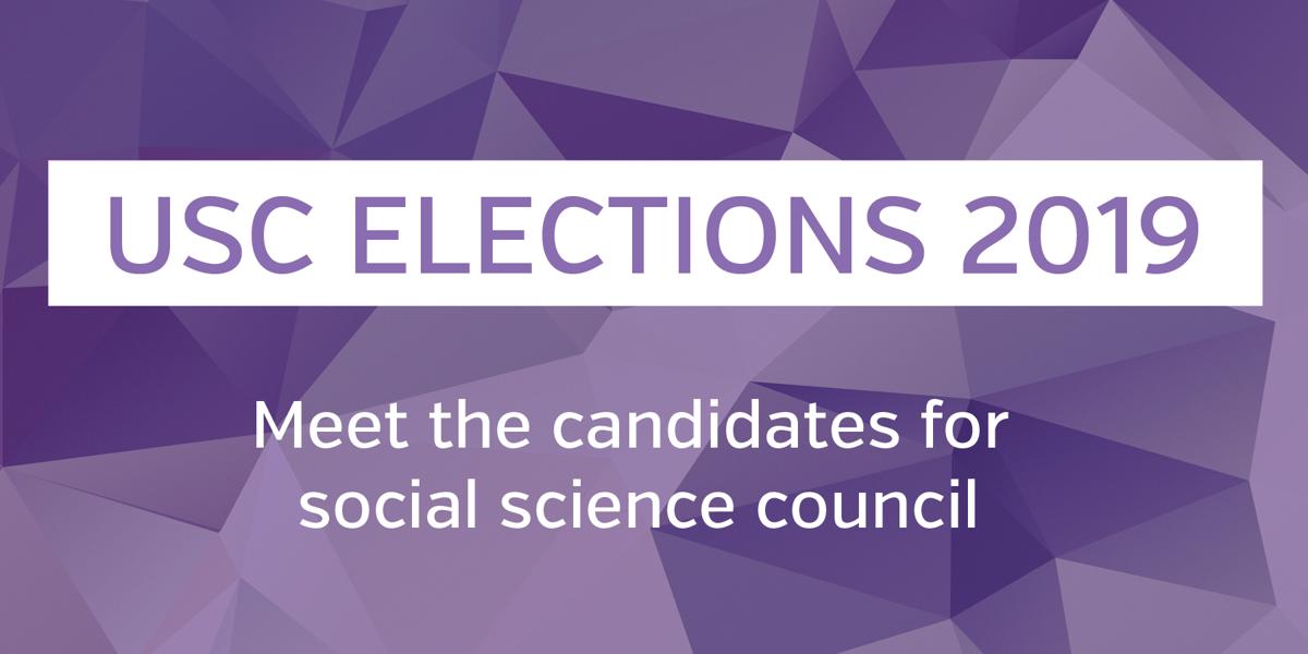 USC elections 2019- social science council