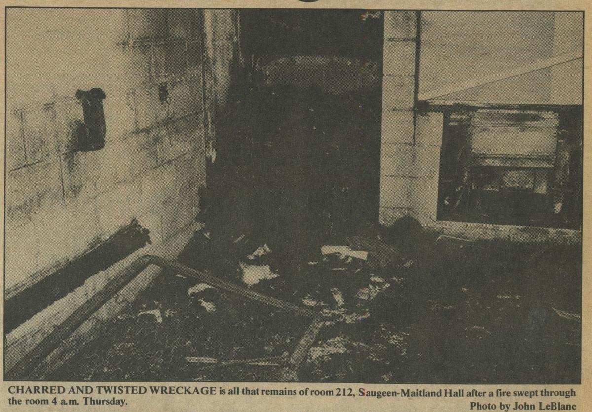 1984 Saugeen Arson, room