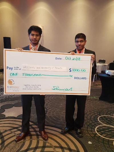 Brain tumour research competition (Photo)