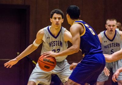 Men's Basketball vs Laurier - Aaron Tennant