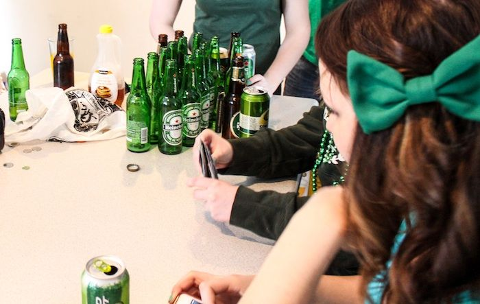 Police tame St. Paddy's