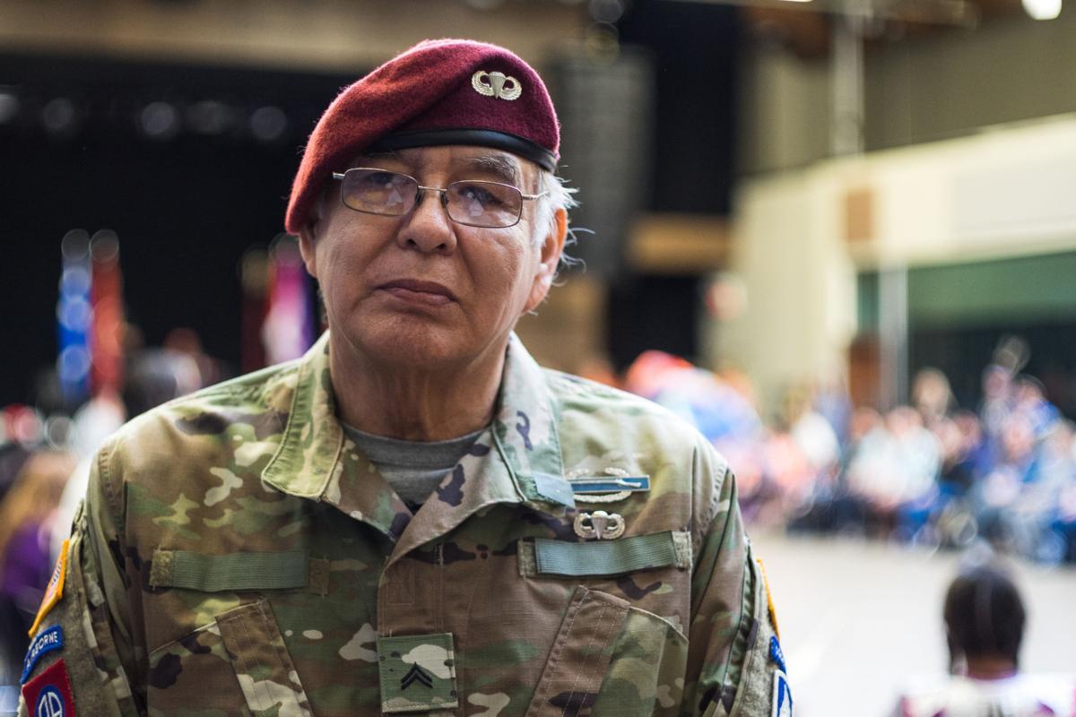 Veteran pow wow