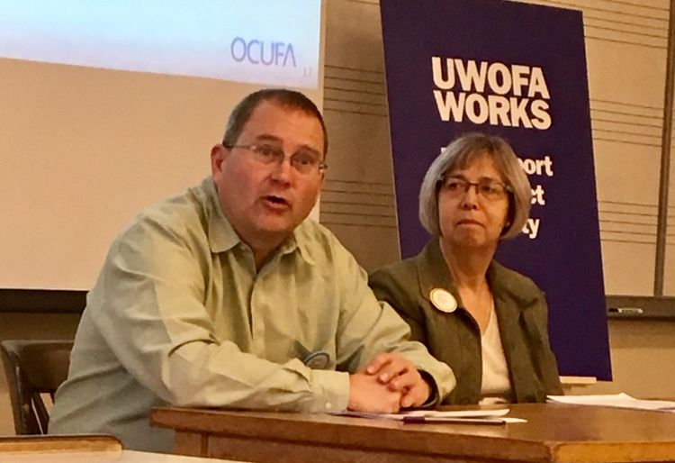 Steven Pitel and Ann Bigelow UWOFA OCUFA Presentation