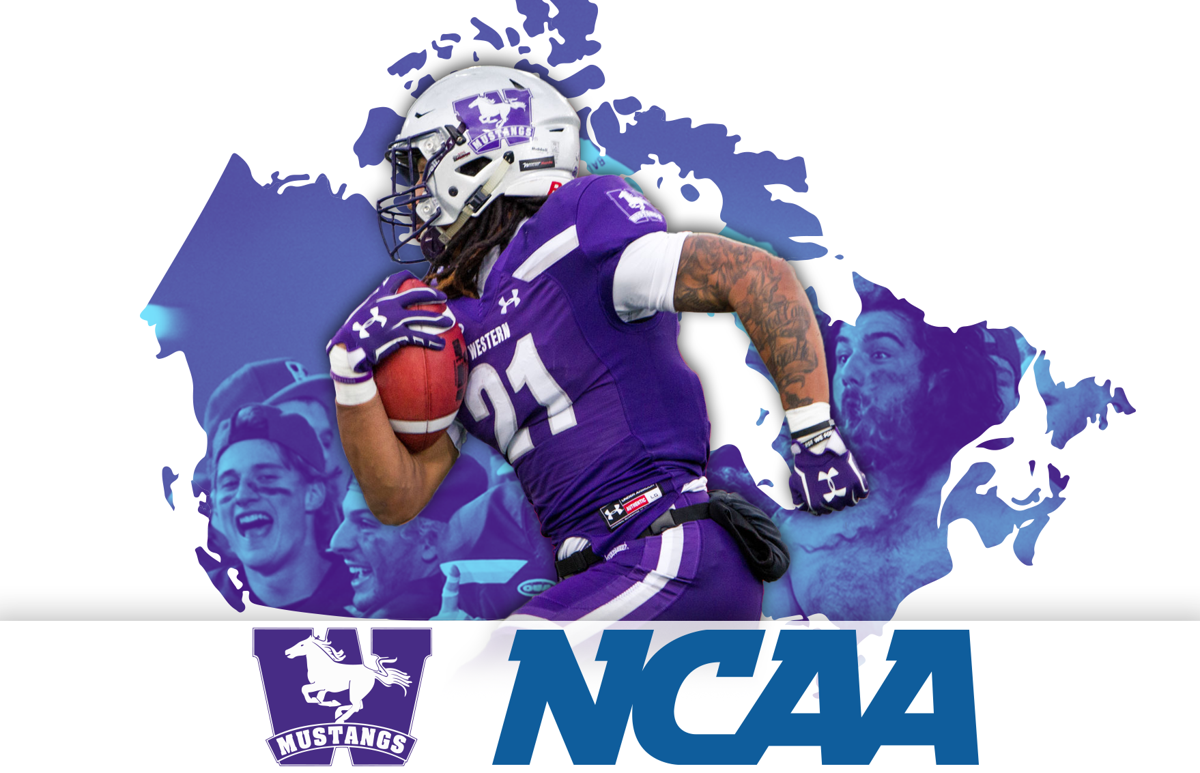 Mustangs NCAA graphic