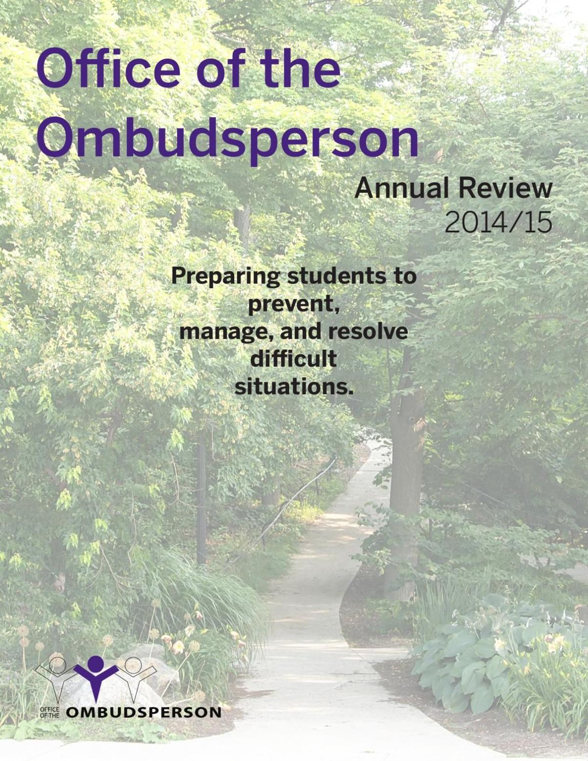 Ombudsperson Report 2014-15