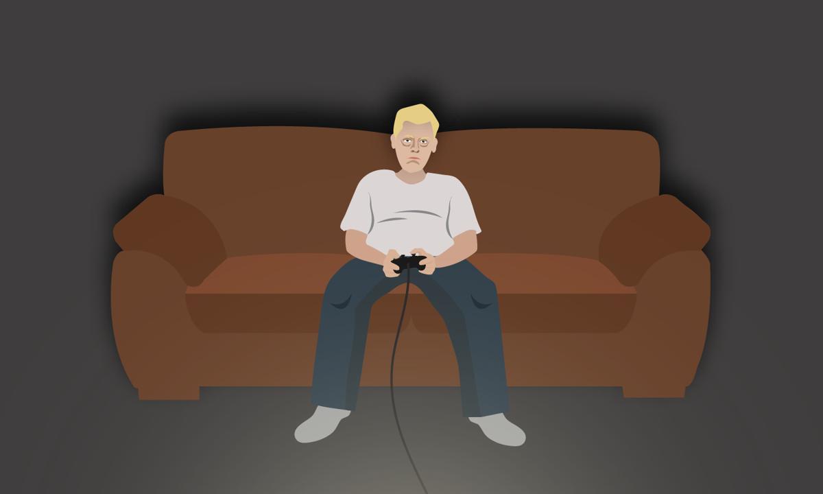 Video Game Addict