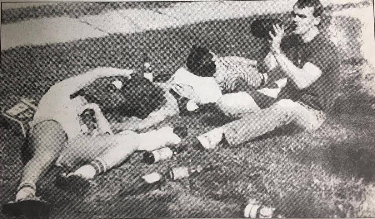 Drinking in the 90s during O-Week