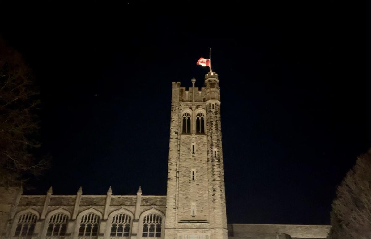 UC flag half-mast (1)