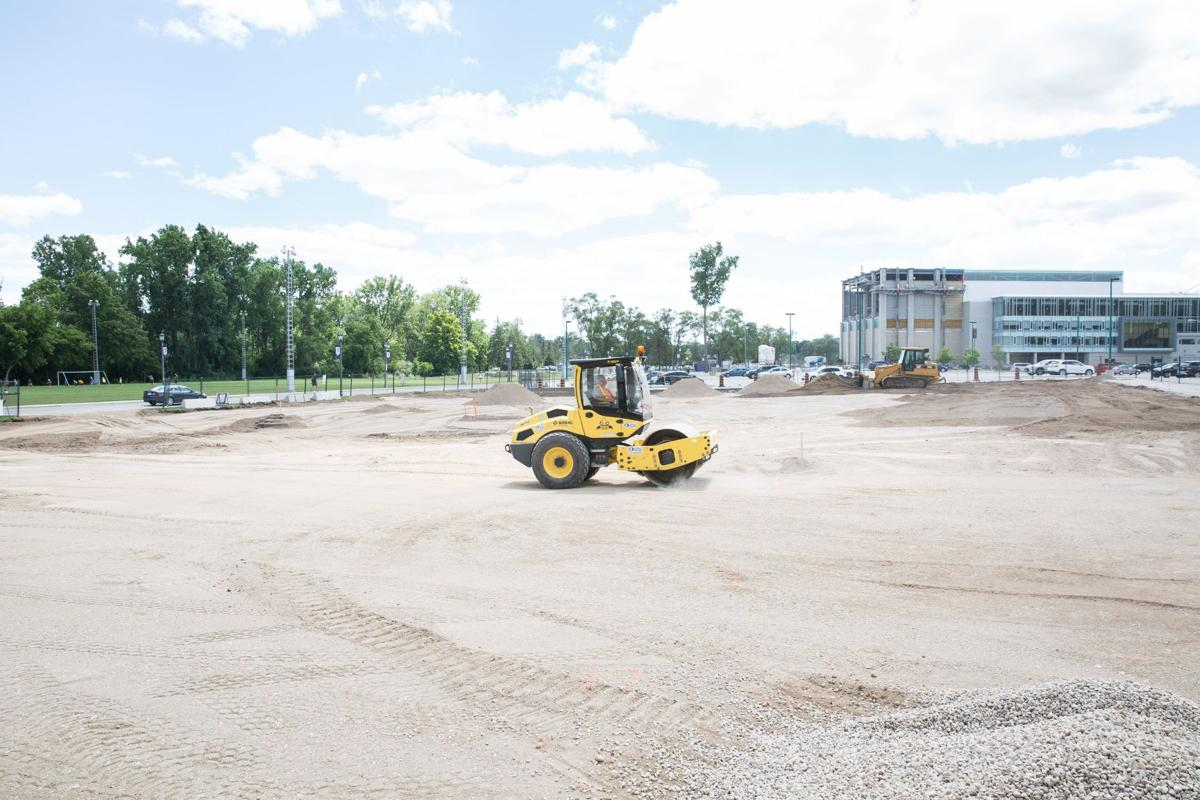 South Valley Lot construction (Image)