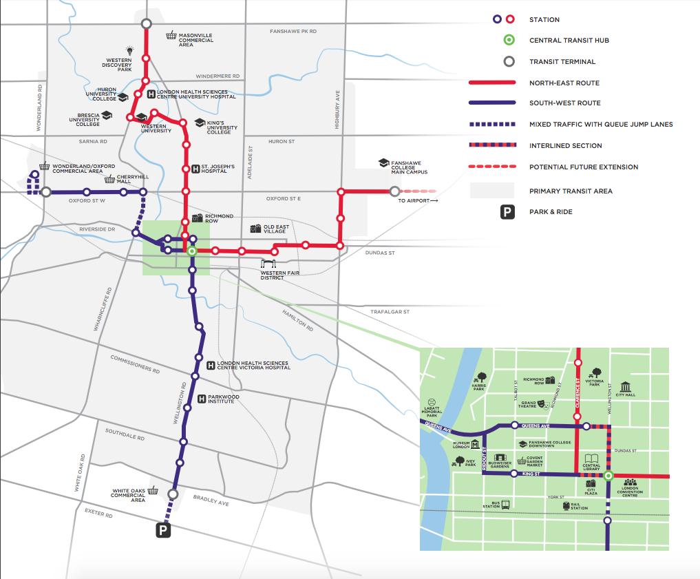 BRT plan (Graphic)