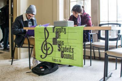 Music students' council sign (Photo)
