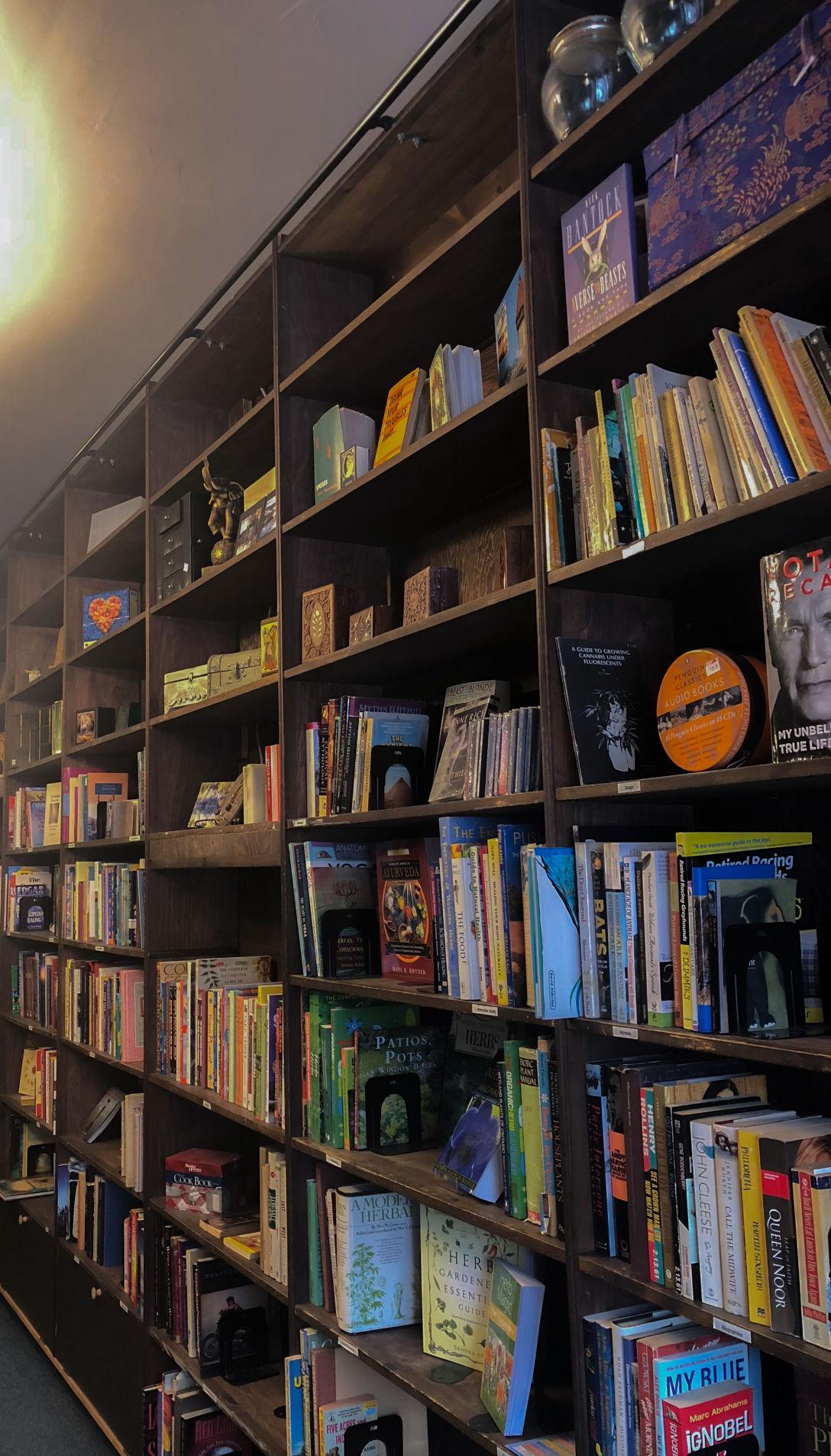 Bookshops in London - Safiya Chagani Mystic Bookshop bookshelves(9 of 10).jpg