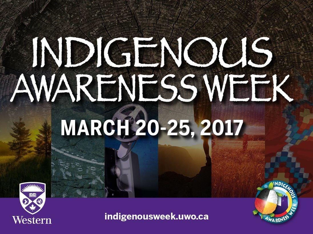 Indigenous Awareness Week Poster 2017