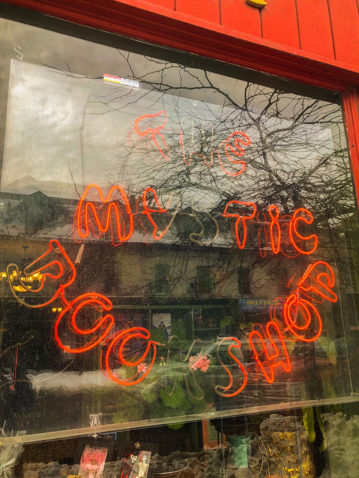 Bookshops in London - Safiya Chagani Mystic Bookshop sign (10 of 10).jpg