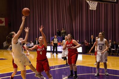 women's basketball vs brock