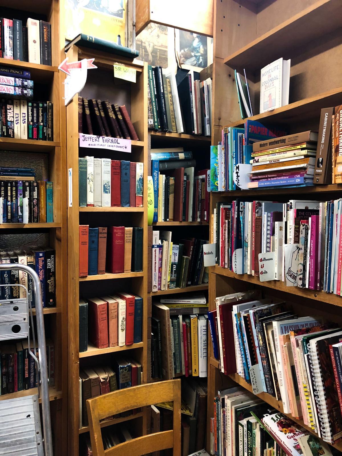 Bookshops in London - Safiya Chagani City Lights Bookshop bookshelves (2 of 10).jpg